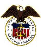 This is the official Badge of United states Merchant Marines.