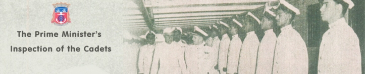 First Prime Minister of India Pt. Jawaharlal Nehru  Inspecting the T.S Dufferin Cadets.