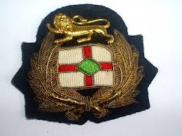 cap badge issued by British Tanker Company, BP Shipping of today.
