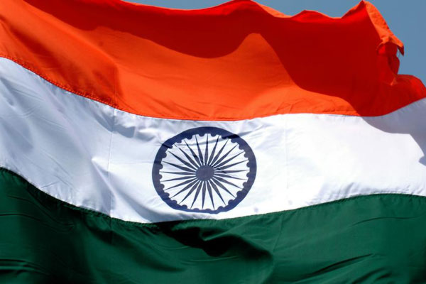 National Flag of Republic of India.