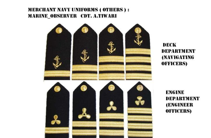 These Kinds are usually used by USA Merchant Marine Officers.
