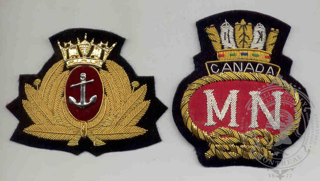 Badges issued by Canada.