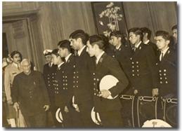 cadet's inspection, TS Dufferin.