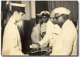 President's Gold Medal.
