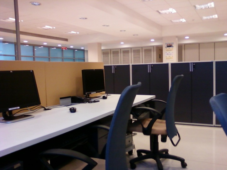 This was one of the Offices I went for my sponsorship tests.