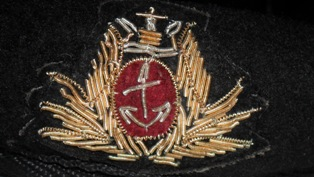 Cap Badge of my Beret.